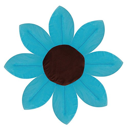 Harko Large Bloom Bathing Baby Non Slip Foldable Flower Bathtub For Newborn  Toddler Blooming Flower Lotus Sink Bath For Baby (Light Blue)