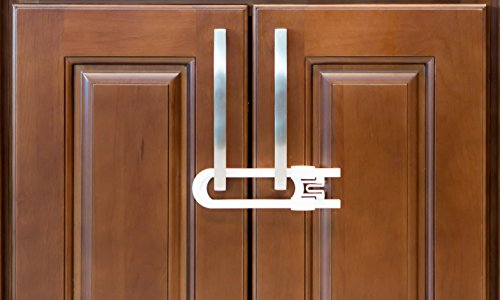 Baby Proof Kitchen Cabinets Sliding CabiLocks For Child Safety | Baby Proof Your Kitchen