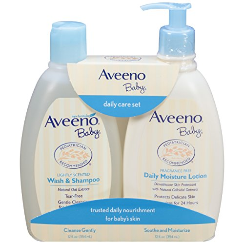 Aveeno Baby Daily Care Set For Delicate Skin And Hair, 2 Items