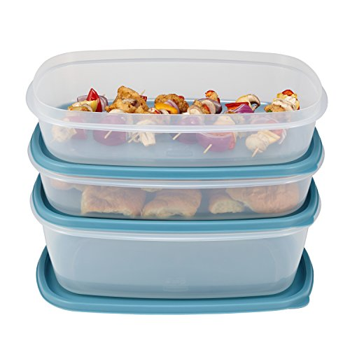 Rubbermaid Easy Find Lid Food Storage Container BPA Free Plastic