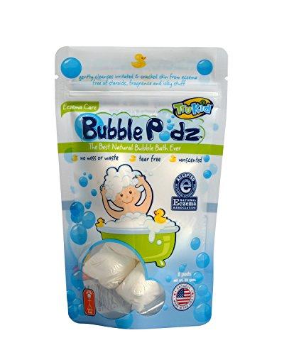Trukid Eczema Bubble Podz Natural Bubble Bath With
