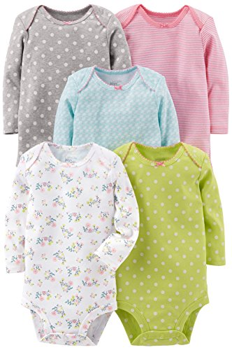 Simple Joys by Carter's Baby Girls' 5-Pack