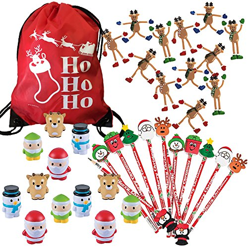 christmas stocking stuffers party favors bulk variety pack 36