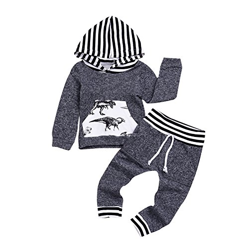 Infant Baby Boys Dinosaur Outfit Set