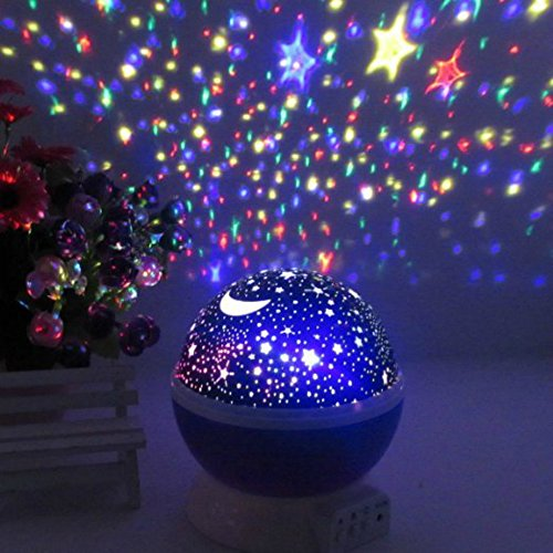 Constellation Night Light Projector Lamp From Peachy Nights