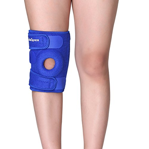 Ligament Brace Pad Wrap MEDICAL GRADE Neoprene KNEE SUPPORT Open Patella Sleeve
