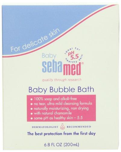 Sebamed Baby Bubble Bath 6 8 Fluid Ounces Best For Baby
