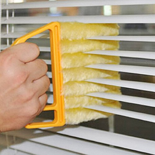 how to clean kitchen mini blinds