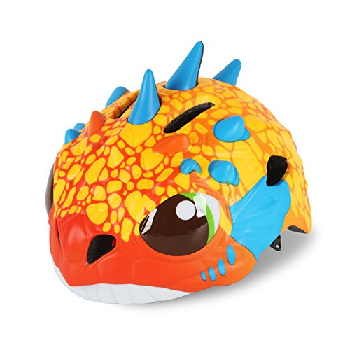 Toddler Bike Helmet 3D Multi-sport Cartoon Creative Dinosaur