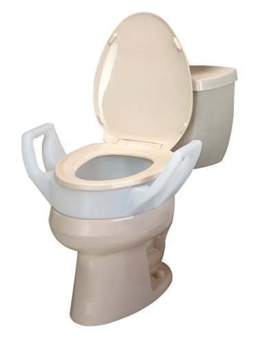 2 Inch Toilet Seat. Ableware Elevated 3 1 2 Inch Toilet Seat with Arms  Elongated 725753311