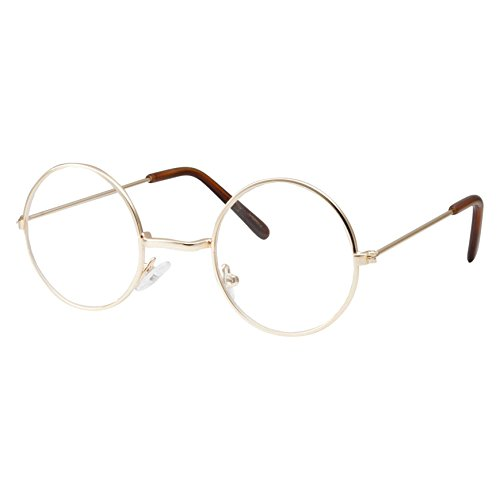 Kids Size Non-Prescription Glasses Round Circle Frame Clear Lens ...