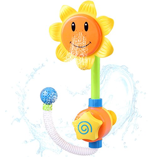 Bath Toys For Boys : Baby bath toys shower spray bathing tub fountain for