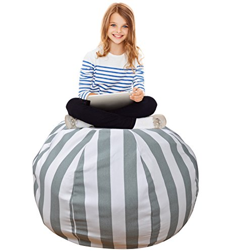 Miraculous Stuffed Animal Storage Bean Bag Extra Large Organization Squirreltailoven Fun Painted Chair Ideas Images Squirreltailovenorg