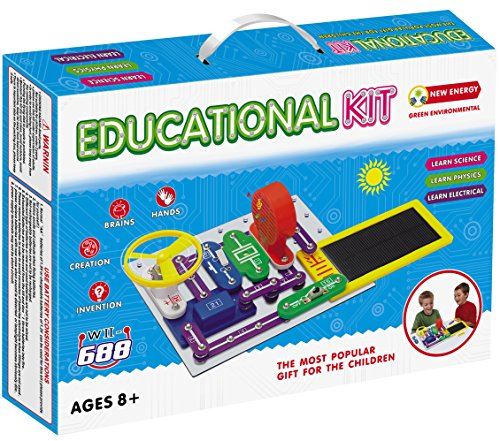 Liyic DIY Build 1000 Science Experiments For Kids,Solar