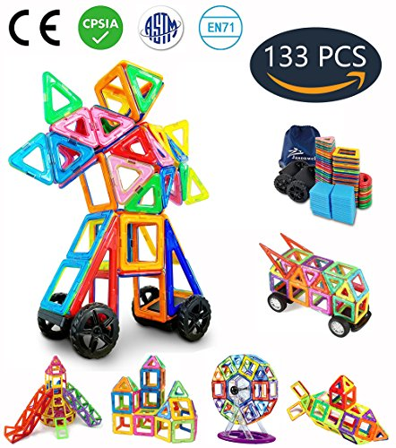 Creativity Toys For Boys : Jasonwell pieces creative magnetic building blocks for