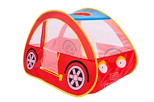 Play Kreative RED RACING CAR POP UP Play TENT u2013 Pretend vehicle Kids Play house and carry Case. For outdoor/indoor child Playtime Activities.  sc 1 st  FrumCare.com & Play Kreative RED RACING CAR POP UP Play TENT u2013 Pretend vehicle Kids ...