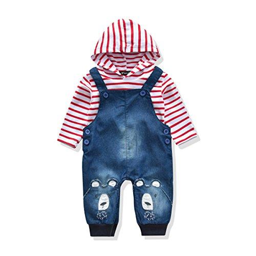 8c3ed0856 LvYinLi Cute Baby Boys Clothes Toddler Boys' Romper Jumpsuit ...