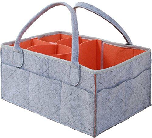 Diaper Caddy- Practical Nursery Organizer-Portable- Easy to Use ...