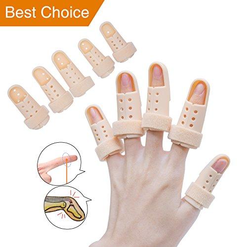 Finger Splint Brace, Mallet Finger Splints Pinky, Plastic