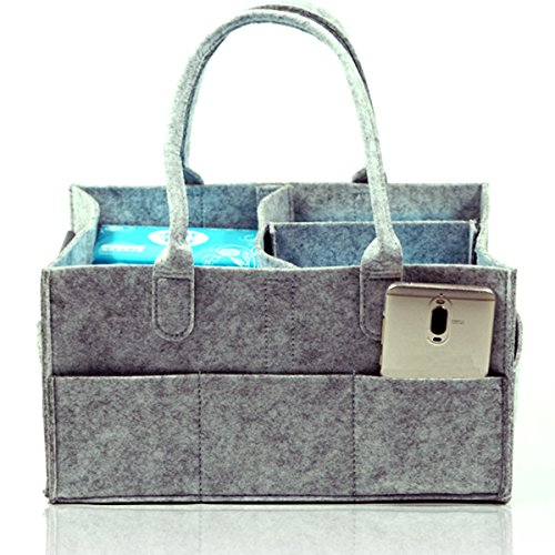 Baby Diaper Caddy Organizer Bag For Mom Baby Shower Gift For