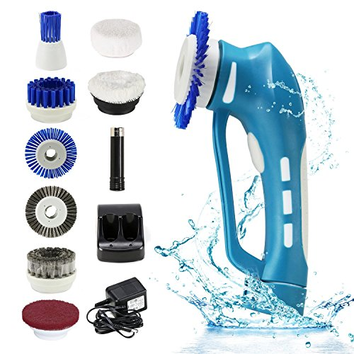 Cordless Power Scrubber EVERTOP Cordless Automatic Multi Purpose - Automatic bathroom scrubber