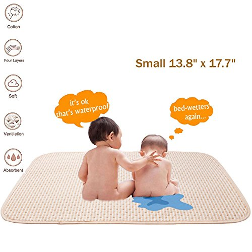 Baby Breathable Changing Urine Mat Cover Mattress Waterproof Diaper Pad Cover RU