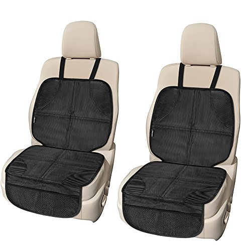 Car Seat Protector 2 Pack For Child Used As A Pad Under Carseat