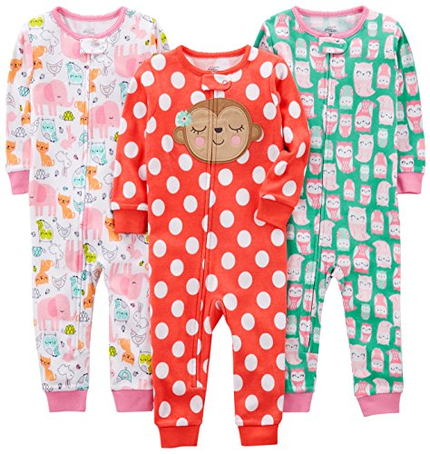 Owl//Monkey//Animals Green 12 Months Simple Joys by Carters infant-and-toddler-sleepers