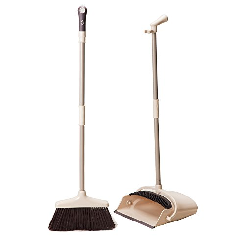 Broom And Dustpan Set Treelen Broom With Dust Pan With
