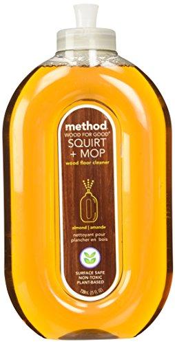 Method squirt and mop floor cleaner