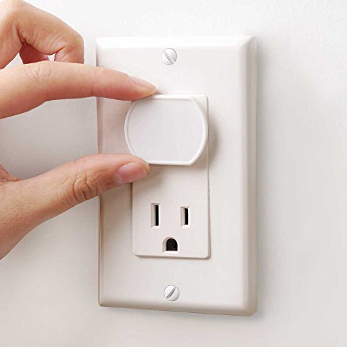 Baby Mate 24 Pcs White Child Safety Electrical Outlet