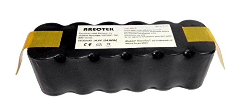 Upgraded 4500mAh】iRobot Replacement Battery Compatible with
