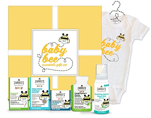 Zarbee S Naturals Baby Bee Essentials Gift Set With