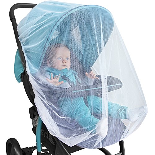 BABY MOSQUITO NET For Stroller Carrier Bassinet PREMIUM Infant Bug Protection Jogger Car Seat Pack N Play Toddler Insect Shield Canopy Gift