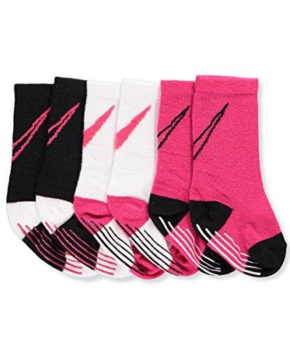 Nike Baby Girls 3-Pack Grippy Socks