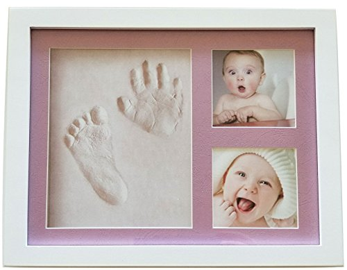 Baby or Pet Clay Imprint Kit by Veahma Baby! Picture Frame (PINK ...
