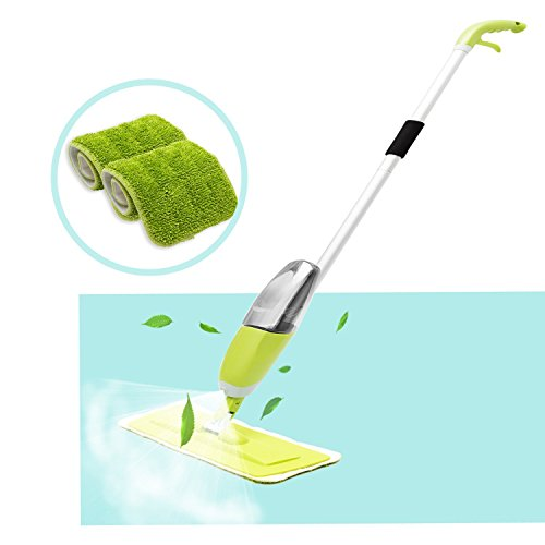 Floor Spray Mop Homily Microfiber Spray Cleaner 360 Degree