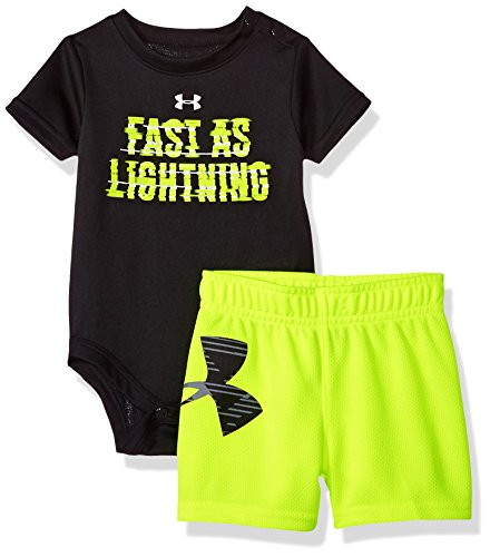 Under Armour Baby Boys Fast As Lightning Set Black 3 6 Months
