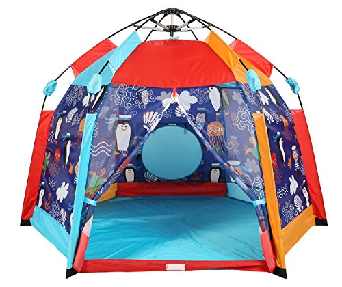 check out c1ab7 d55d2 UTEX Automatic Instant 6 Kids Play Tent for Indoor/ Outdoor ...