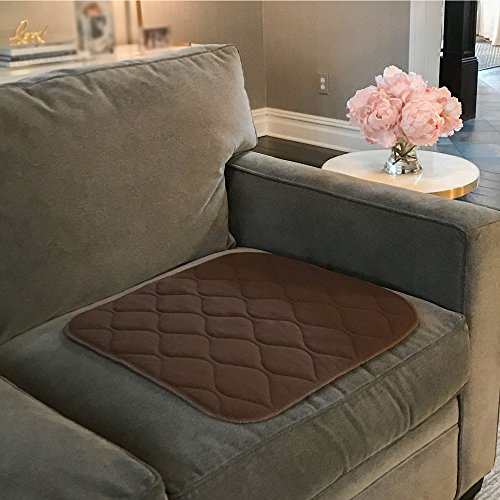 The Original GORILLA GRIP Reusable Furniture And Chair Pad For  Incontinence, Maximum Absorbency, Machine Washable, Soft Cotton Blend, Pads  For Beds And ...