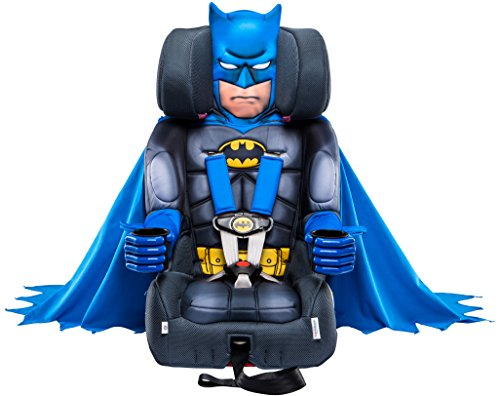 KidsEmbrace Batman Car Seat Booster, DC Comics Combination Seat, 5