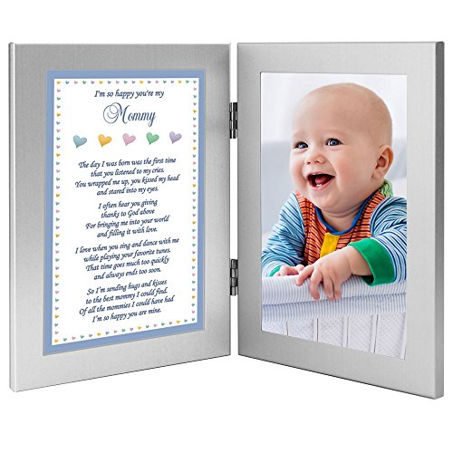 Baby Boy Frame for Mommy – Sweet Words for Mom from Son – Add Photo ...