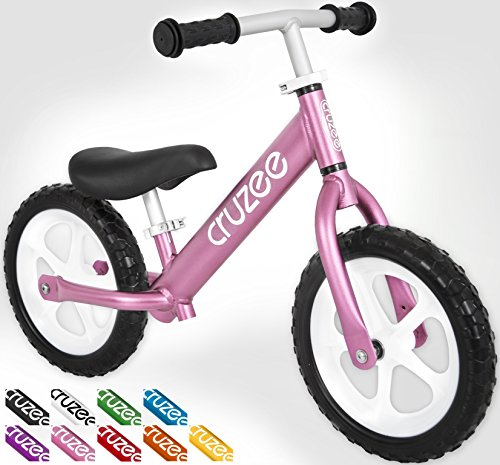 Cruzee Ultralite Balance Bike 4 4 Lbs For Ages 1 5 To 5 Years
