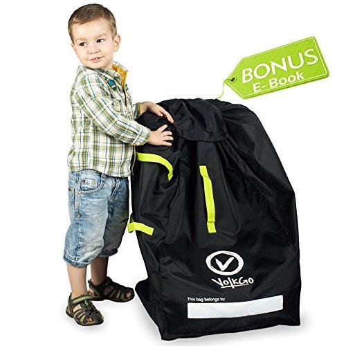 VolkGo DURABLE Car Seat Travel Bag With BONUS E BOOK Ideal Gate