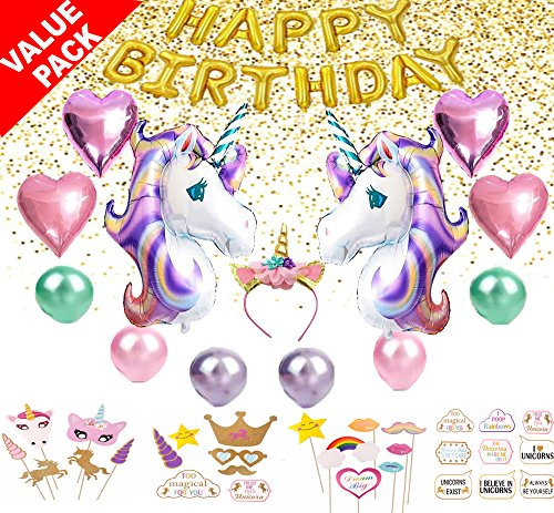 unicorn birthday party supplies unicorn party decorations for