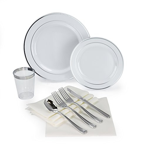 OCCASIONS 200 piece/25 guest Wedding Party, Heavyweight