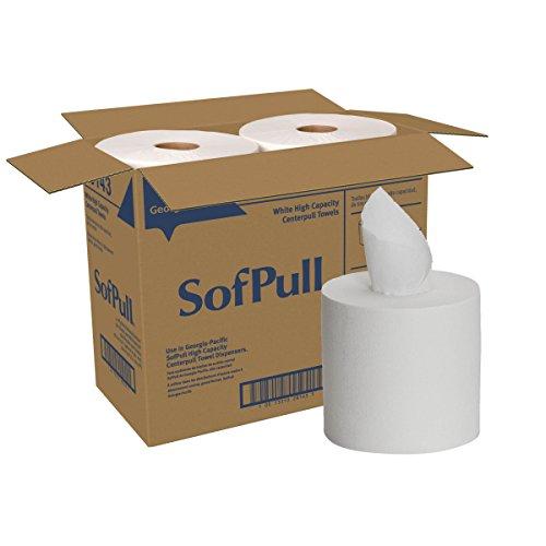 SofPull Centerpull High Capacity Paper Towel by GP PRO, White, 28143 ...
