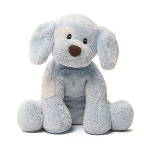 Baby Gund Spunky Dog Stuffed Animal Plush Sound Toy Blue 8 The