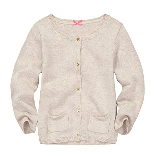 Zebra Fish Girls Button Up Sweater Long Sleeve Casual Girls Knit Cardigan