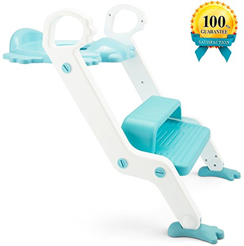 Surprising Potty Training Seat With Step Stool Ladder For Kids And Machost Co Dining Chair Design Ideas Machostcouk
